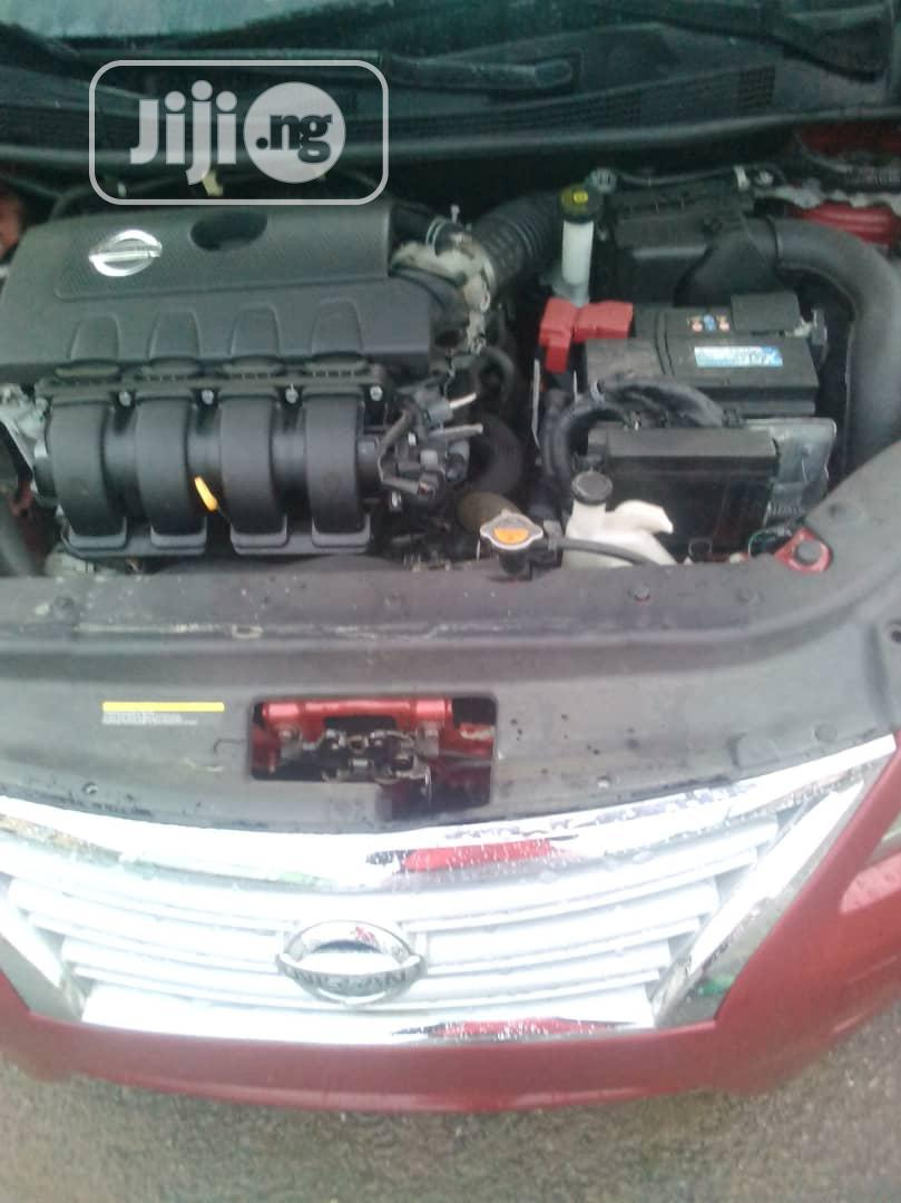 Nissan Sentra 2013 Red   Cars for sale in Gbagada, Lagos State, Nigeria