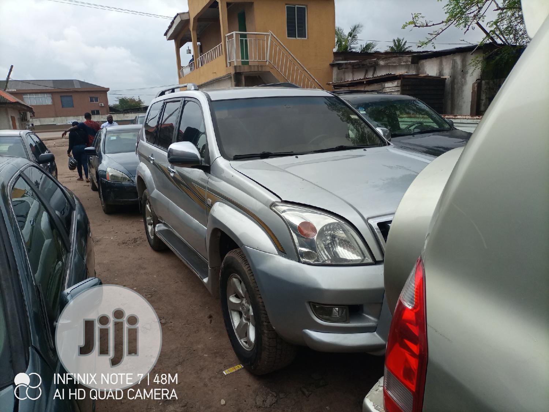 Toyota Land Cruiser Prado 2008 Silver | Cars for sale in Ifako-Ijaiye, Lagos State, Nigeria