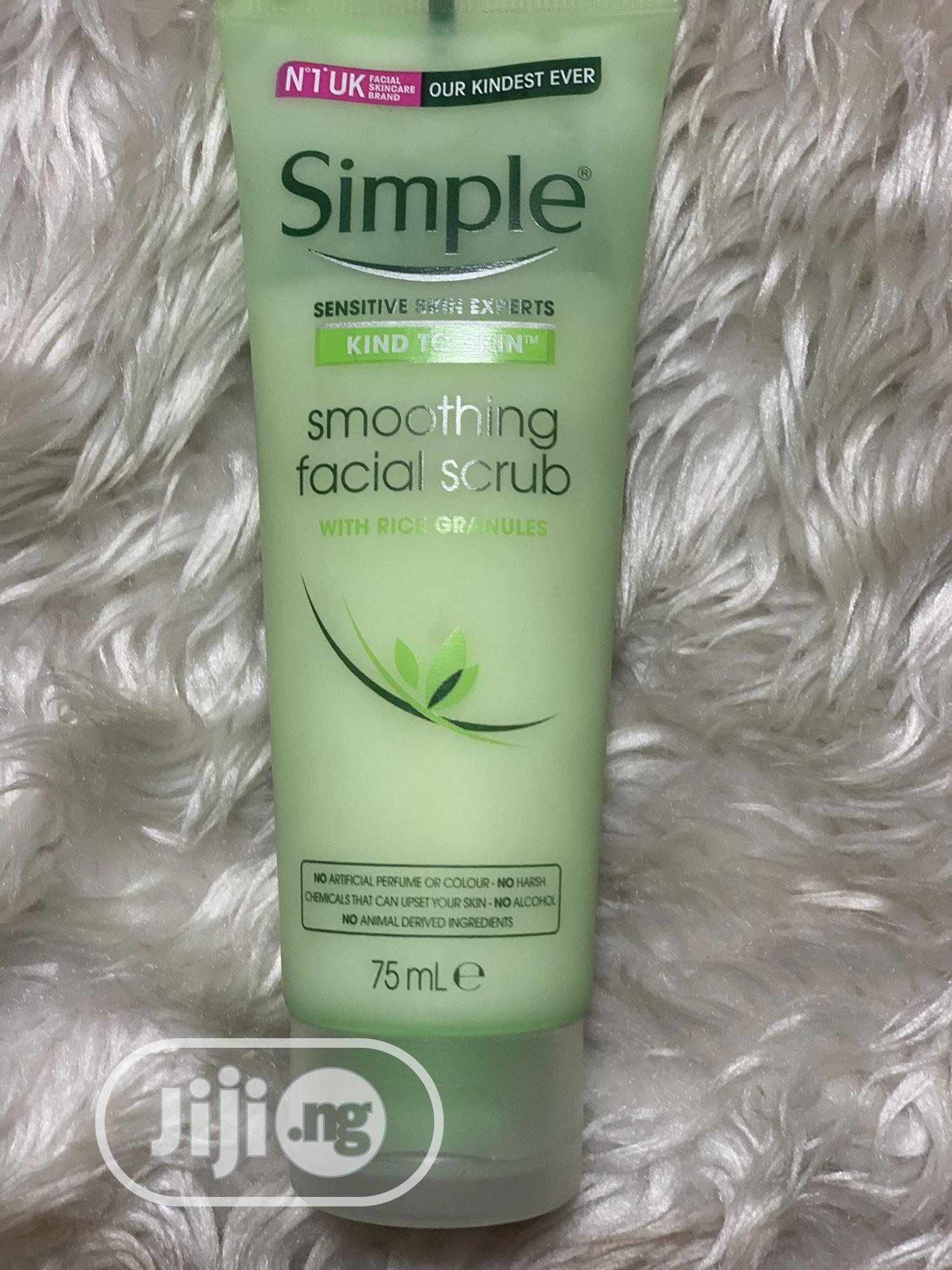 Simple Facial Scrub