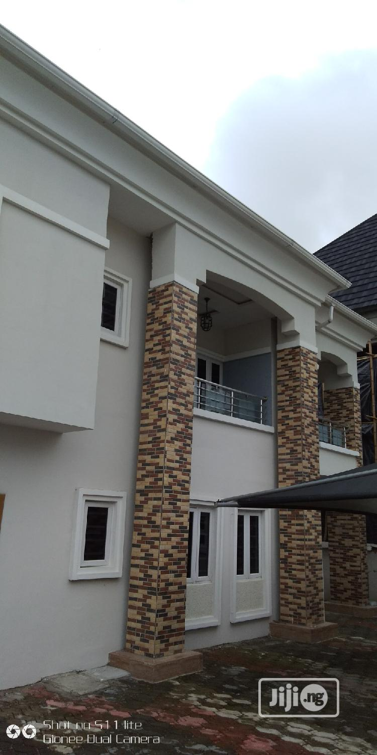 Majestic 4 Bedrooms Detached Duplex Newly Built In An Estate