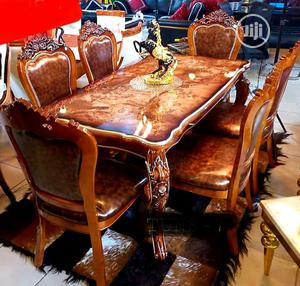 Quality Imported Royal Wooden Dining Table by Six Seater   Furniture for sale in Lagos State, Lekki