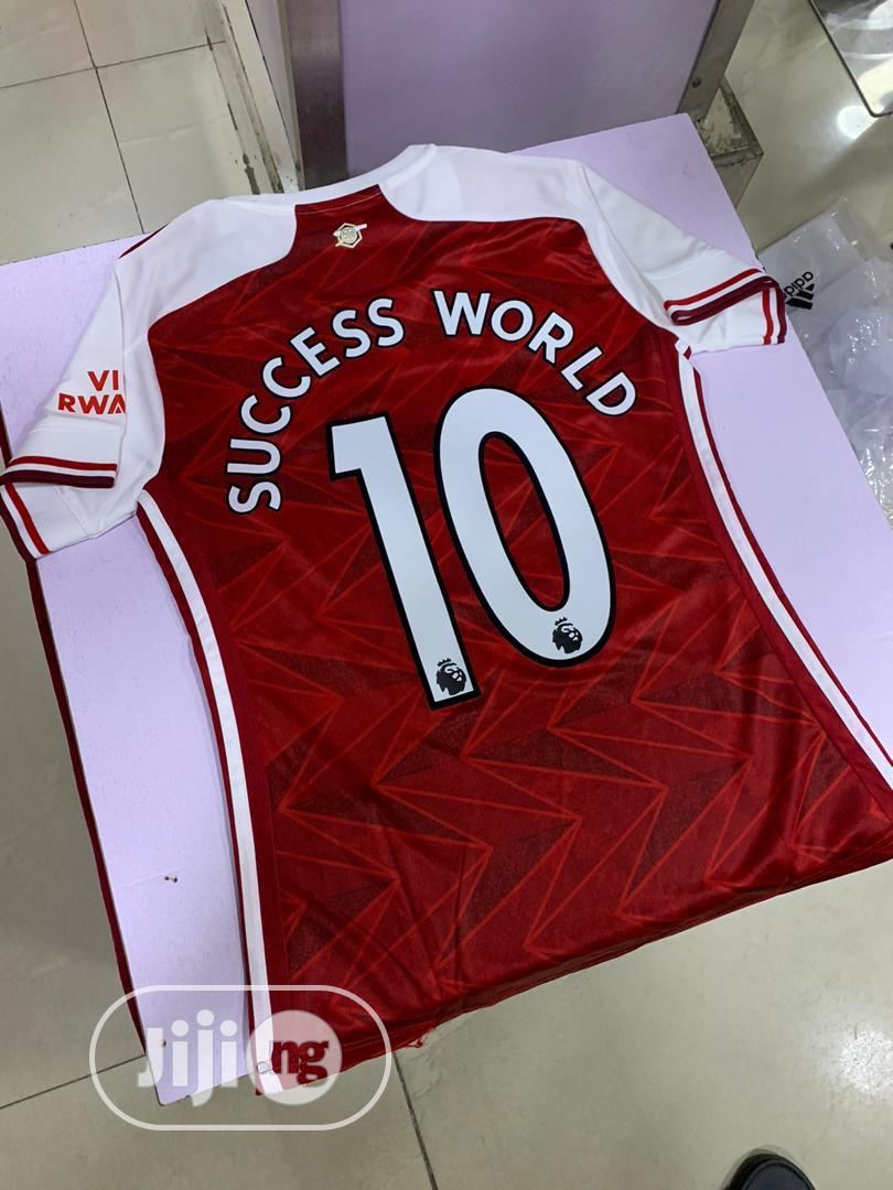 Original Female New Season Arsenal Home Jersey | Clothing for sale in Magodo, Lagos State, Nigeria