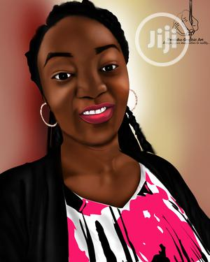 Portrait (Digital Painting) | Arts & Crafts for sale in Rivers State, Port-Harcourt