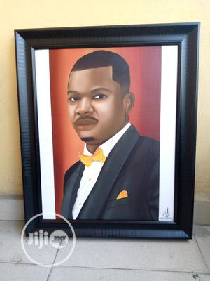 Digital Portrait Painting With Frame | Arts & Crafts for sale in Rivers State, Port-Harcourt