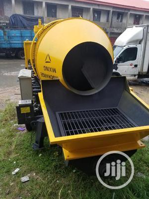 Mobile Concrete Mixer With Concrete Pump   Heavy Equipment for sale in Lagos State, Lagos Island (Eko)