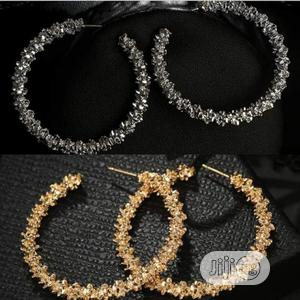 Short and Long Round Earings in Silver and Gold Slide   Jewelry for sale in Lagos State, Lagos Island (Eko)