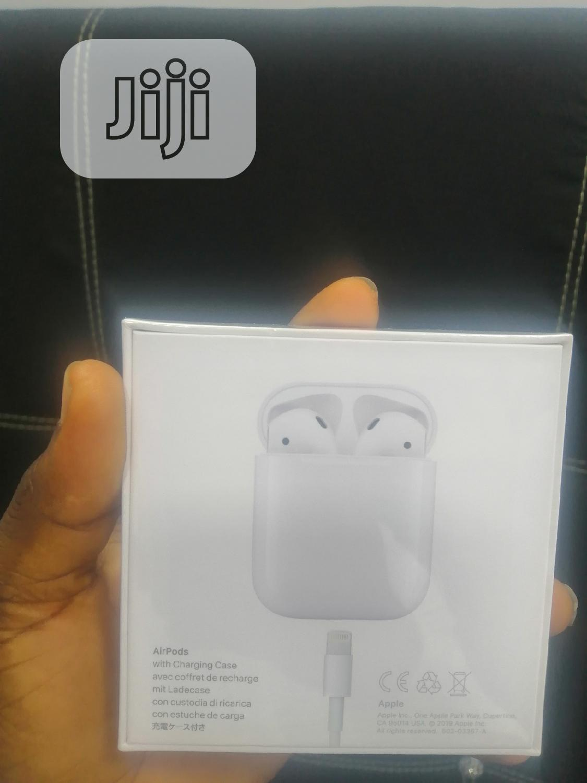 Apple Airpods 2 | Headphones for sale in Ikeja, Lagos State, Nigeria