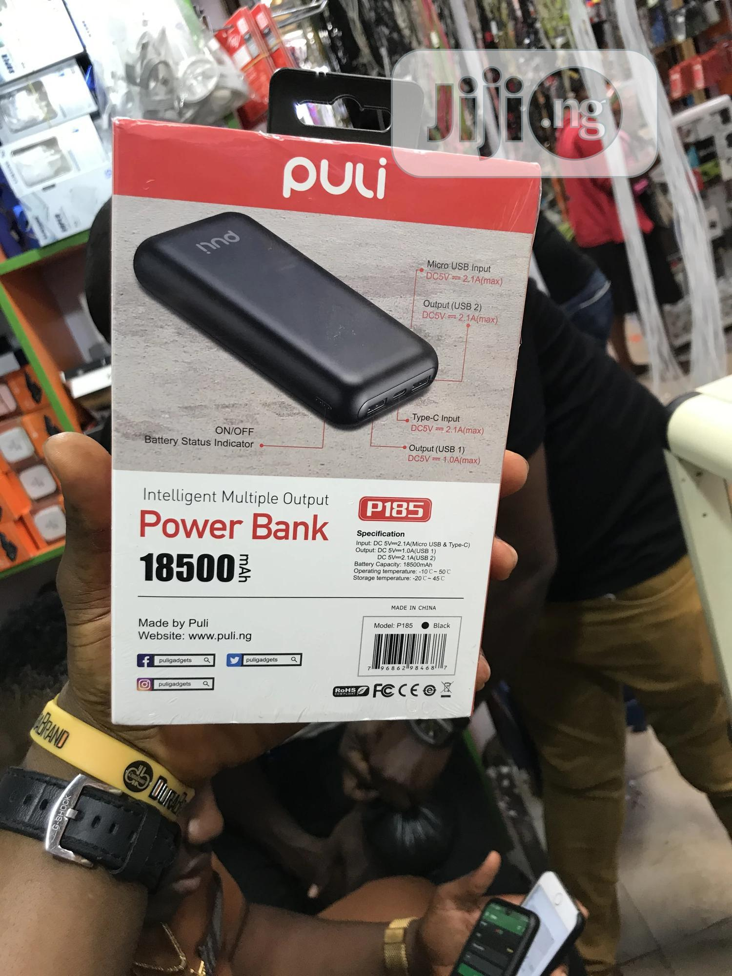Archive: 18500mah Puli Powerbank