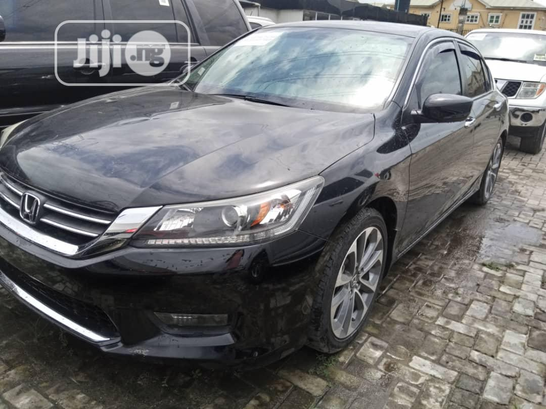 Honda Accord 2015 Black