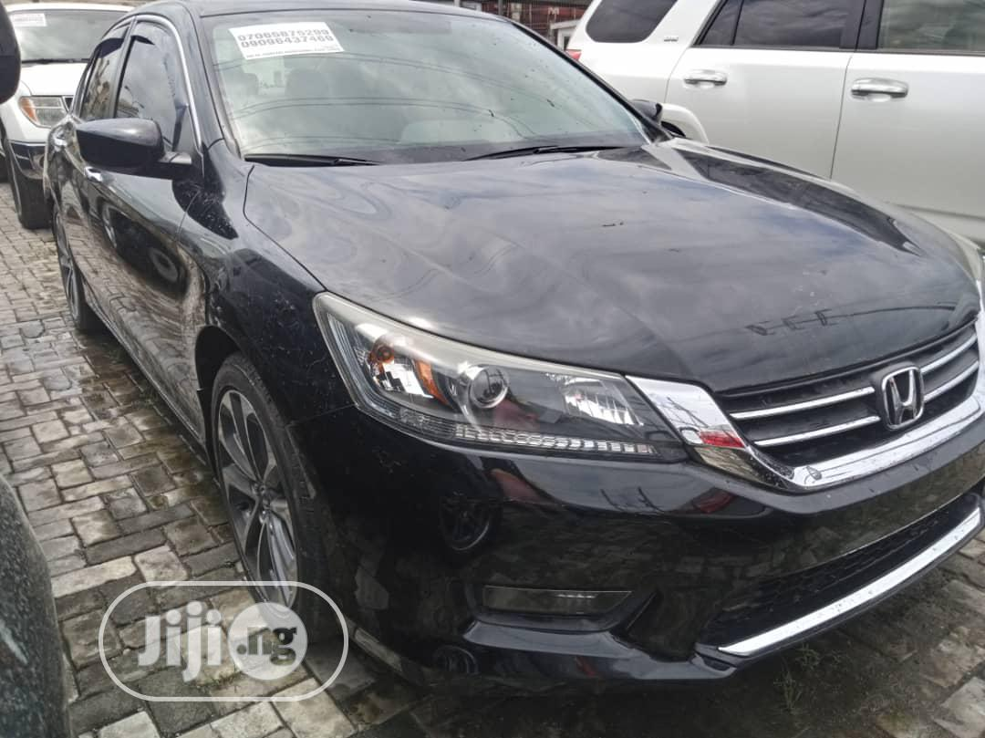 Honda Accord 2015 Black | Cars for sale in Ajah, Lagos State, Nigeria