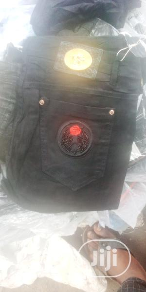 Men's Quality Black Plain Jeans | Clothing for sale in Abia State, Aba South