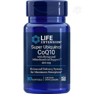 Life Extension Super Ubiquinol Coq10 W/Mitochondrial Support | Vitamins & Supplements for sale in Lagos State, Amuwo-Odofin