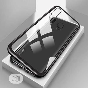 Magnetic Case for Huawei Y9(2019),Clear Tempered Glass Back   Accessories for Mobile Phones & Tablets for sale in Lagos State, Ikeja