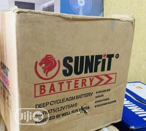Sunfit 75ah 12v Battery   Solar Energy for sale in Lagos State, Ojo