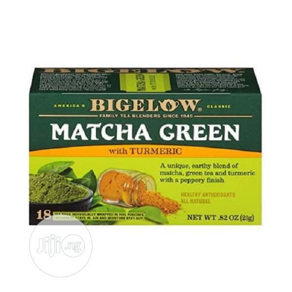 Bigelow Matcha Green Tea With Turmeric 18 Count