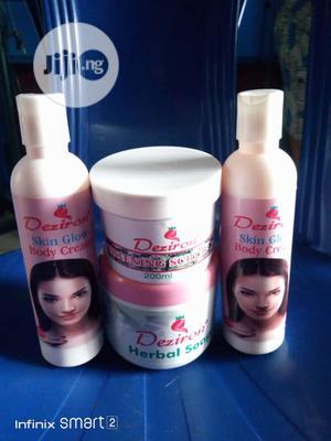 Deziron Skin Glow Organic Cream,Scrub, Treatment Herbal Soap | Skin Care for sale in Lagos State, Ikotun/Igando