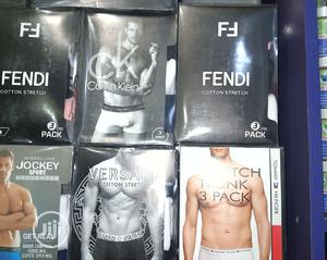 3 In 1 Designer Men Boxers | Clothing for sale in Abuja (FCT) State, Lugbe District