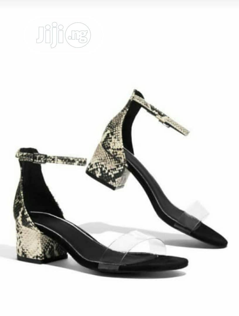 Ladies Block Heel Sandals