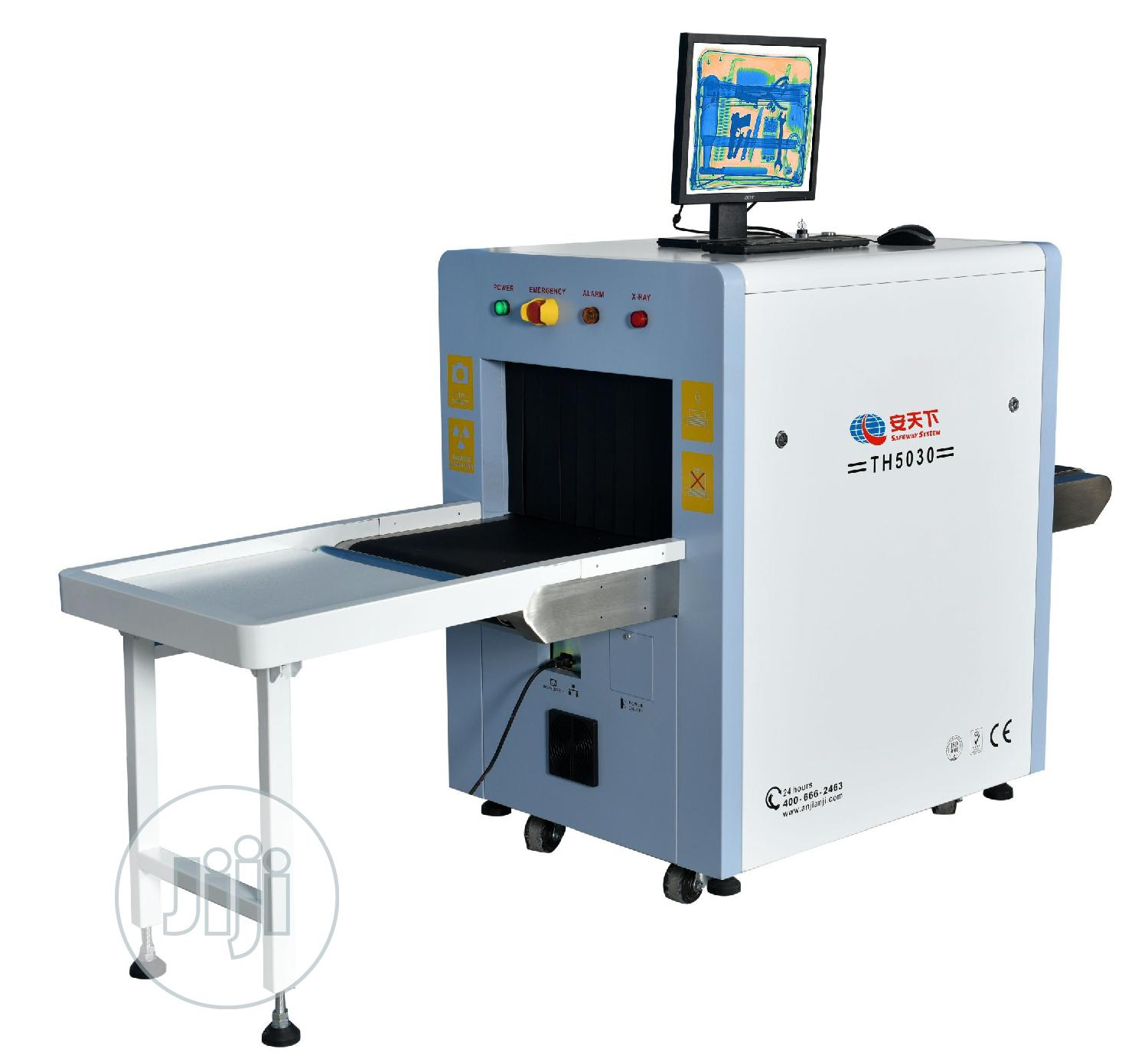 Airport X-ray Baggage Scanner Tunnel Machine At50x30cm