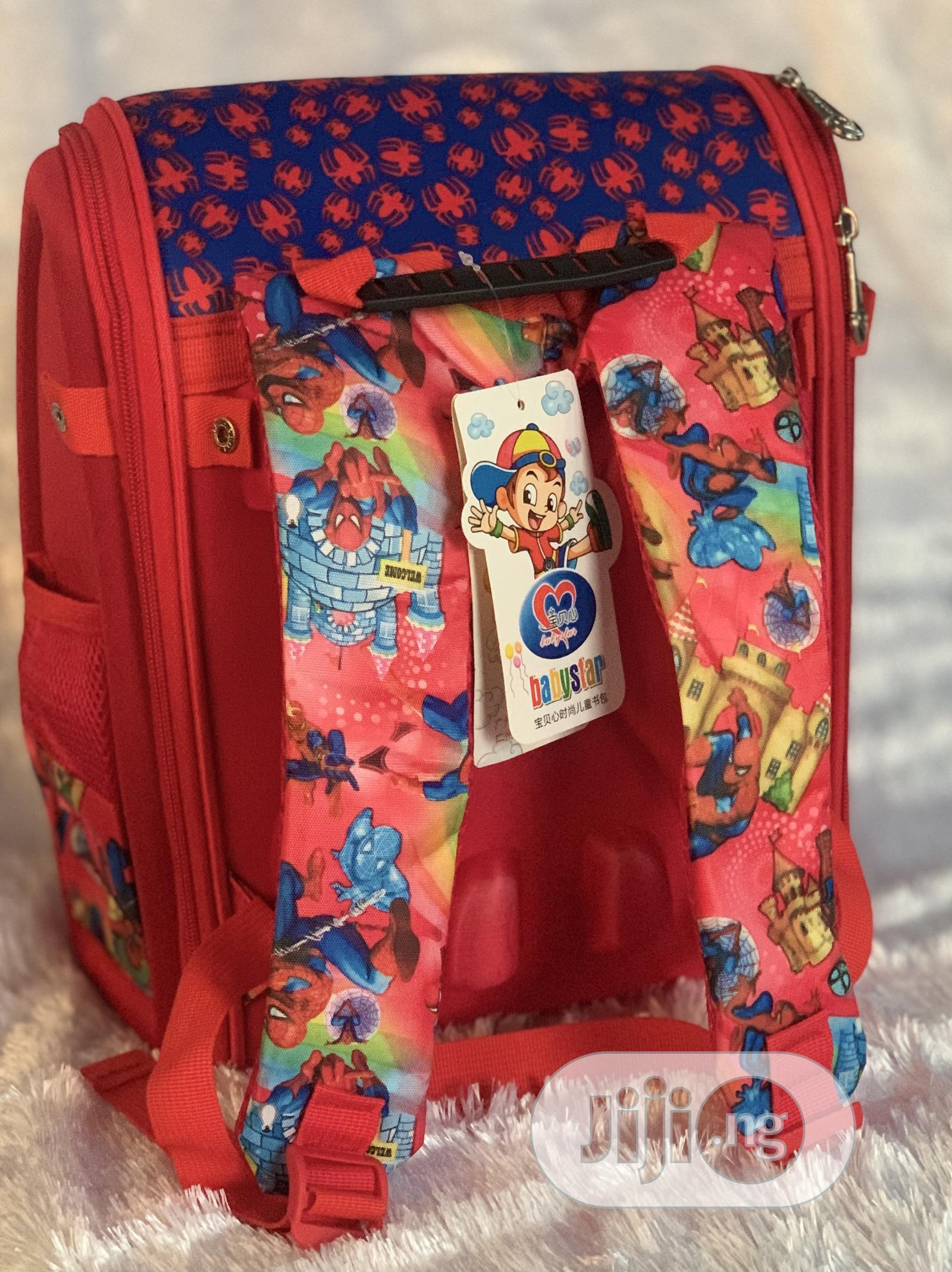 Archive: Back to School!, Kiddies School Bag in Spider Man Character
