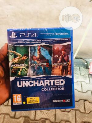 Uncharted 4 The Nathan Drake Collection | Video Games for sale in Lagos State, Ikeja
