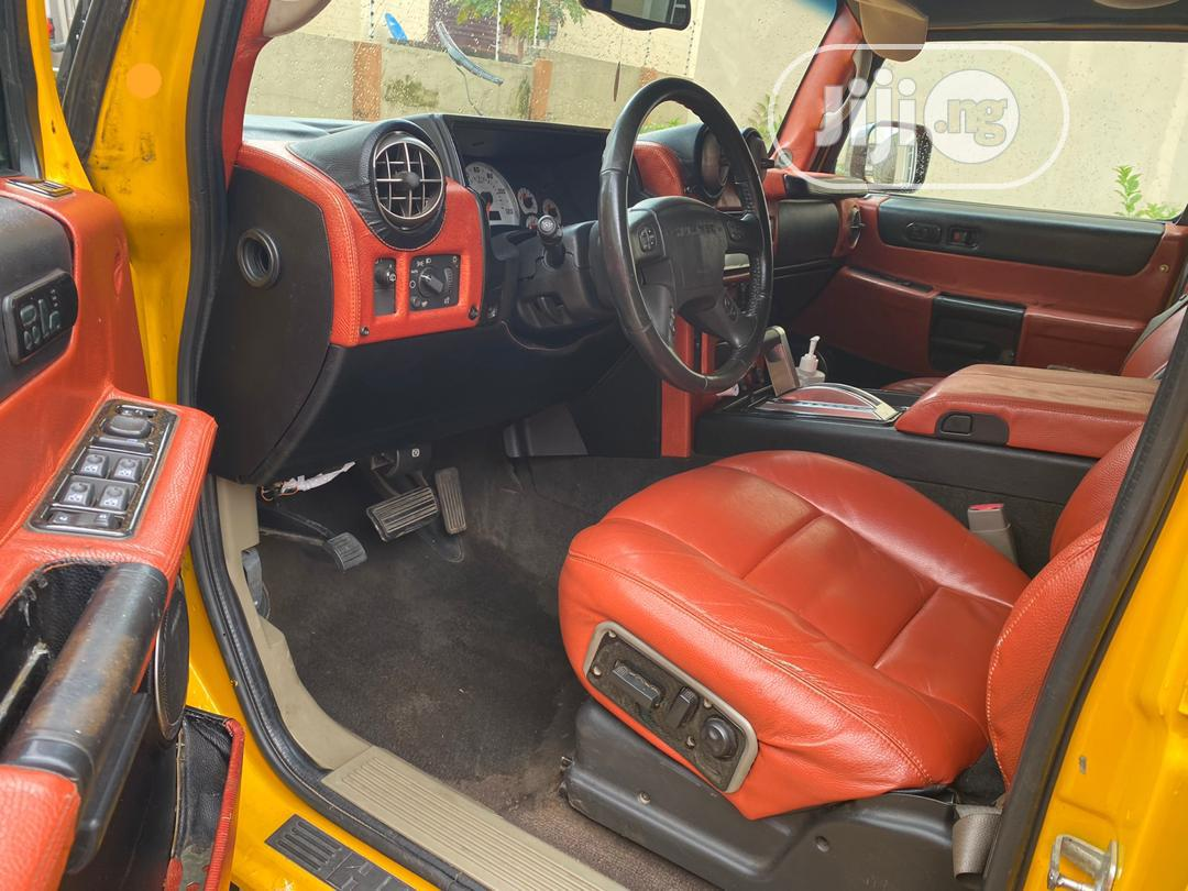 Hummer H2 2006 Yellow | Cars for sale in Garki 2, Abuja (FCT) State, Nigeria