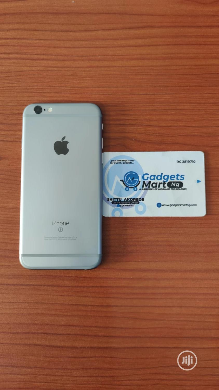Apple iPhone 6s 16 GB Silver   Mobile Phones for sale in Ibadan, Oyo State, Nigeria