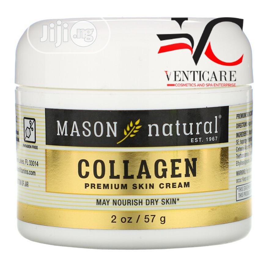 Mason Natural Collagen Premium Skin Cream 2 Oz 57g