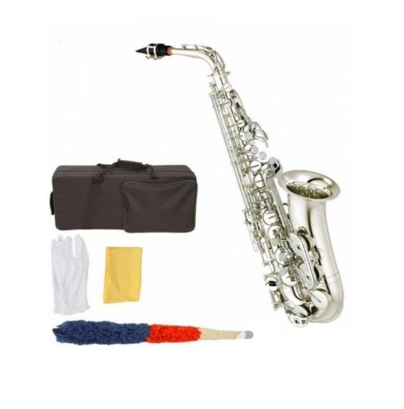 Premier England Alto Professional Saxophone Silver