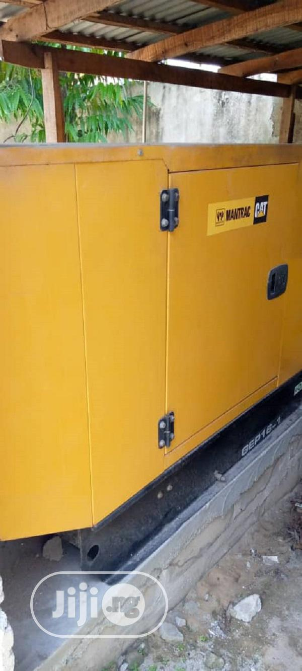 16 Kva Gep16.5 Brand Mantrac Cat© Powered Generator Set | Electrical Equipment for sale in Badagry, Lagos State, Nigeria