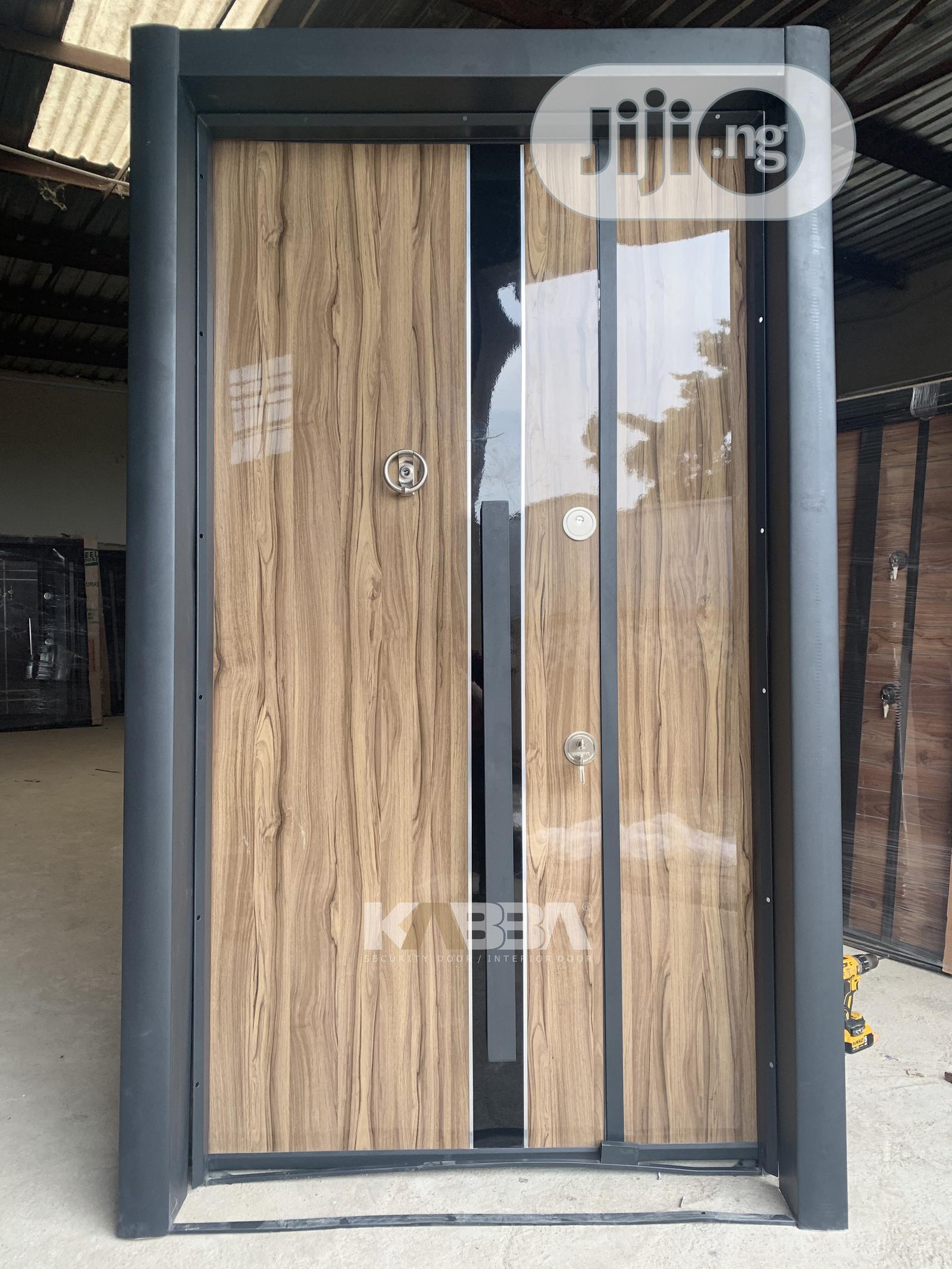 Double Extra Height Security Door