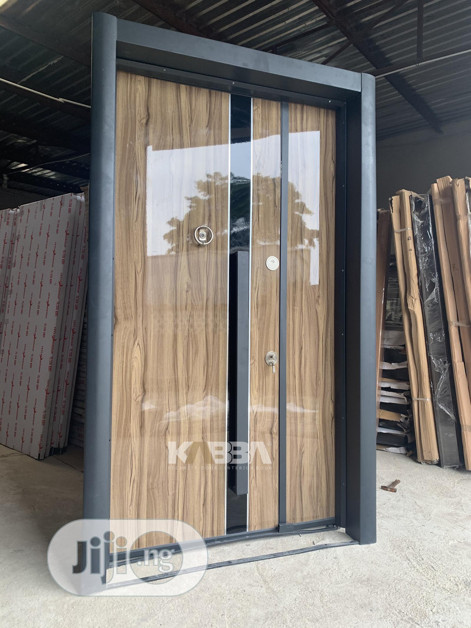 Double Extra Height Security Door | Doors for sale in Kubwa, Abuja (FCT) State, Nigeria