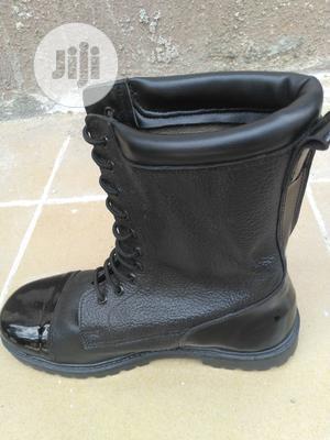 Black Security Boot   Safetywear & Equipment for sale in Lagos State, Lagos Island (Eko)