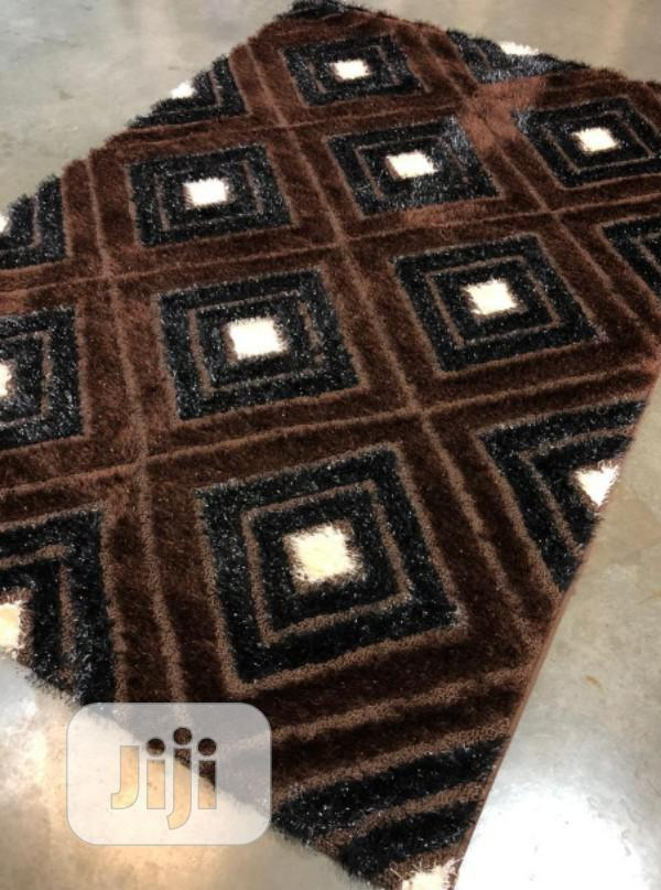 Archive: Coffee Brown Center Rug