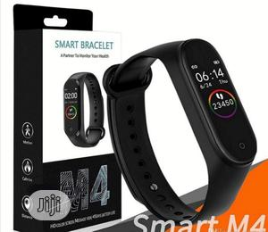 M4 Intelligence Bluetooth Health Wrist Smart Band Watch | Smart Watches & Trackers for sale in Lagos State, Ojo