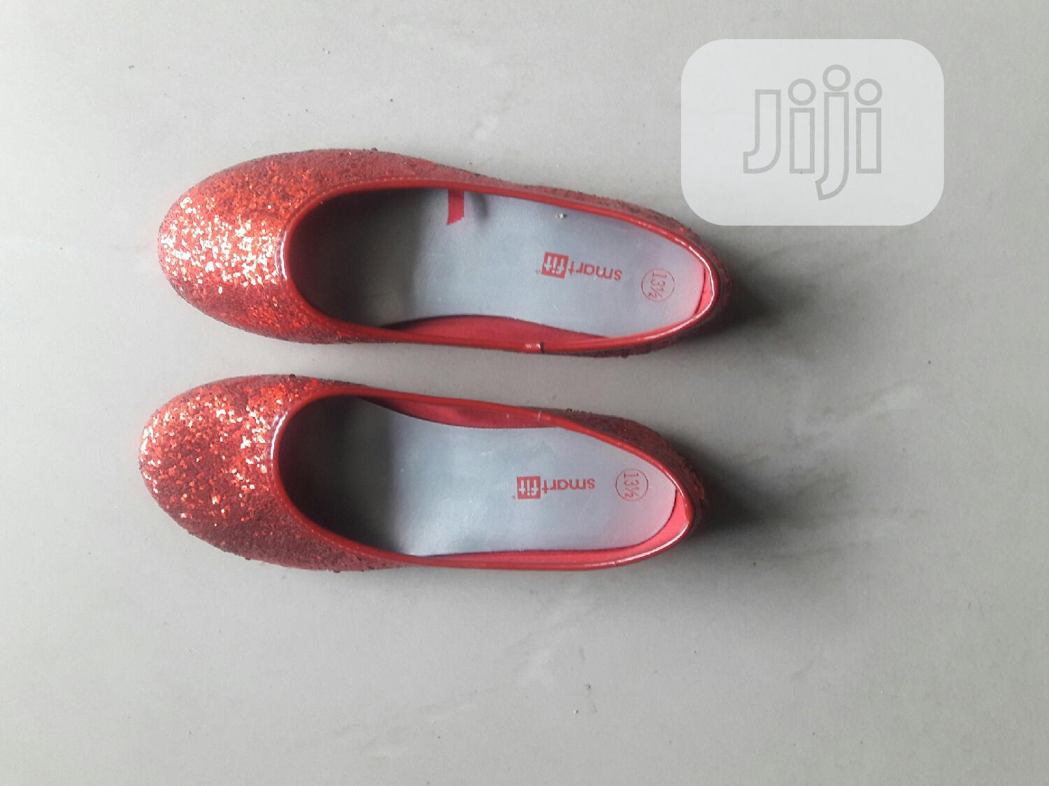 Girls Red Shiny Shoe Flat | Children's Shoes for sale in Amuwo-Odofin, Lagos State, Nigeria