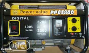 Power Value Petrol Generator 3.5kva | Electrical Equipment for sale in Lagos State, Ojo