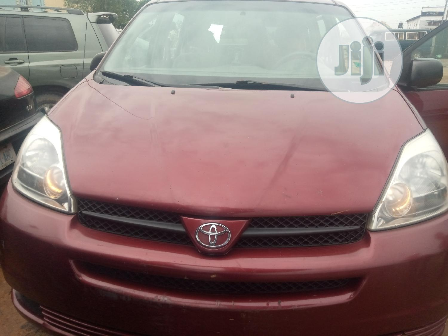 Archive Toyota Sienna 2005 Red In Ikeja Cars Jeslaw Autos Jiji Ng For Sale In Ikeja Buy Cars From Jeslaw Autos On Jiji Ng