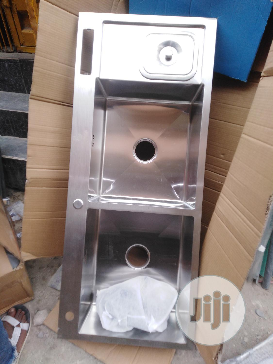 England Hand Made Double Bowl Kitchen Sink | Plumbing & Water Supply for sale in Eko Atlantic, Lagos State, Nigeria