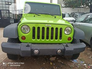 Jeep Wrangler 2013 Unlimited Sport Green   Cars for sale in Lagos State, Isolo