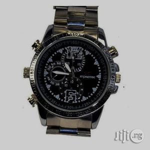 Advance HD Video Camera Spy Watch With 32GB Memory Card. | Security & Surveillance for sale in Lagos State