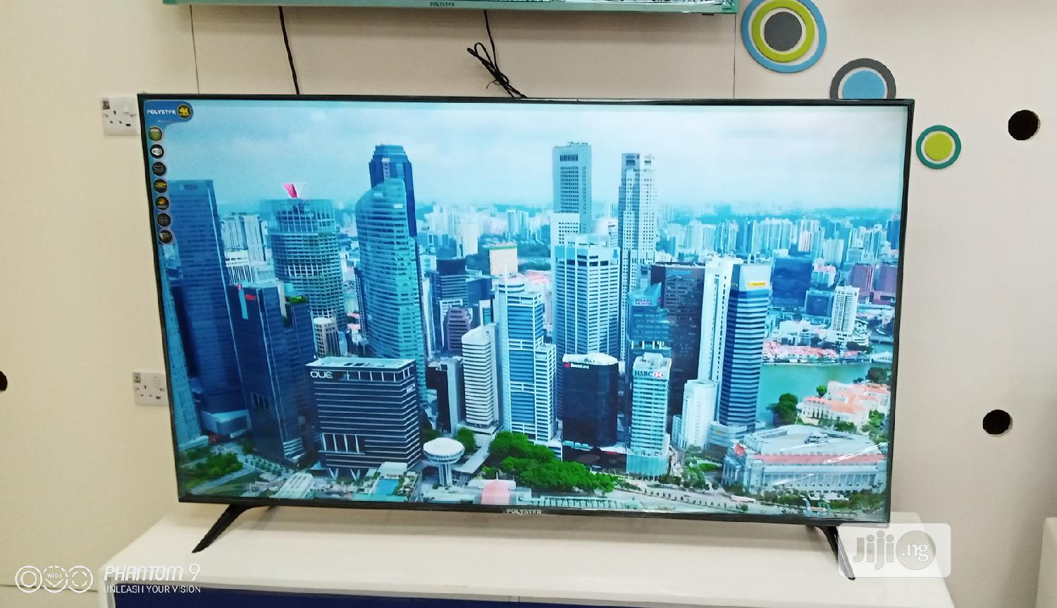 Polystar 65 Inches Smart With Free Delivery in Lagos | TV & DVD Equipment for sale in Lagos Island (Eko), Lagos State, Nigeria