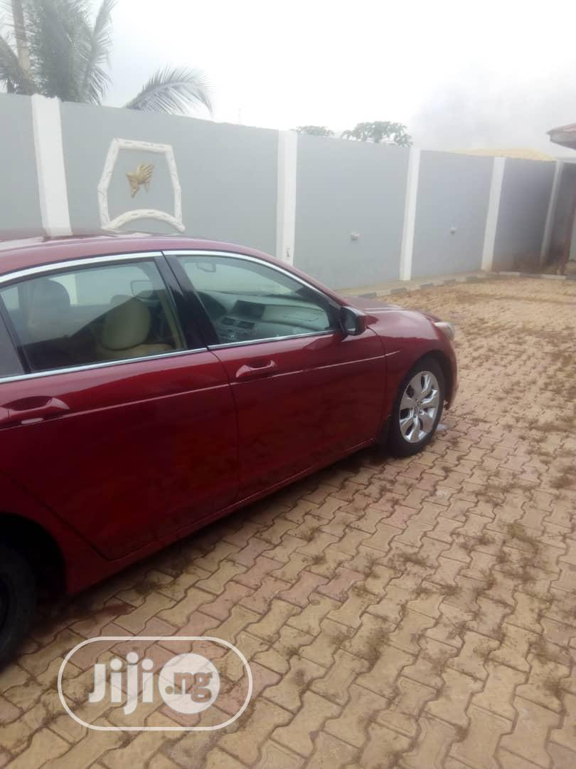Archive: Honda Accord 2008 Red