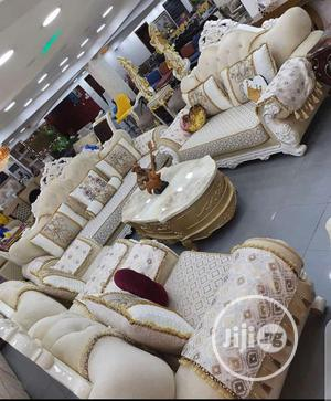 Imported Turkey Royal Sofa Chair Fabric Sofa Quality Sofa | Furniture for sale in Lagos State, Ajah