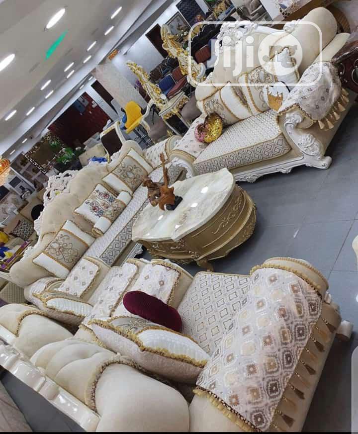 Imported Turkey Royal Sofa Chair Fabric Sofa Quality Sofa