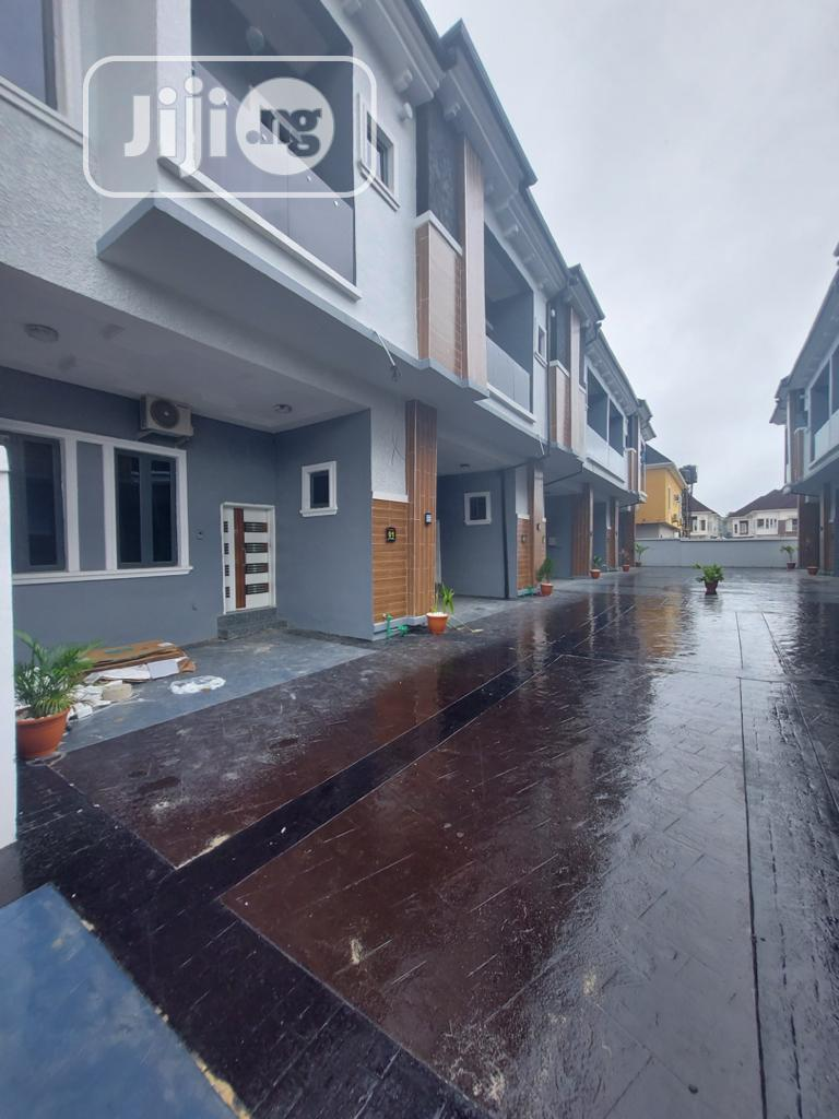 Brand New 4 Bedroom Terraced Duplex At Chevron, Lekki | Houses & Apartments For Rent for sale in Chevron, Lekki, Nigeria