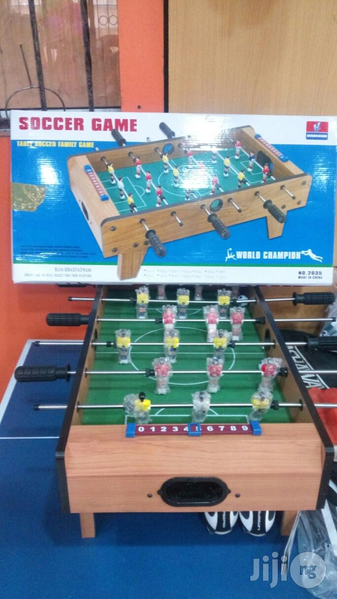 Archive: Children Table Soccer Game
