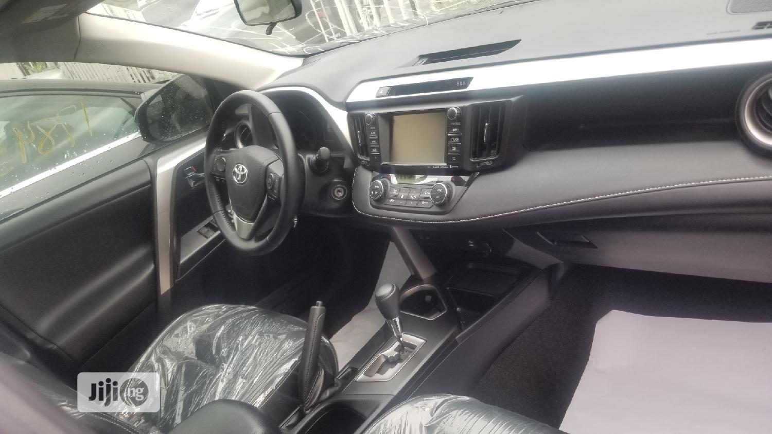 Toyota RAV4 2017 XLE AWD (2.5L 4cyl 6A) Gray   Cars for sale in Ikeja, Lagos State, Nigeria