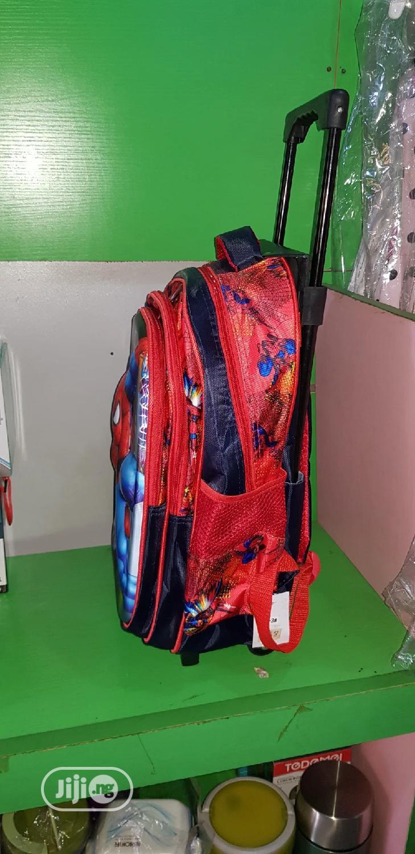 Archive: Spider Man Trolley School Bag