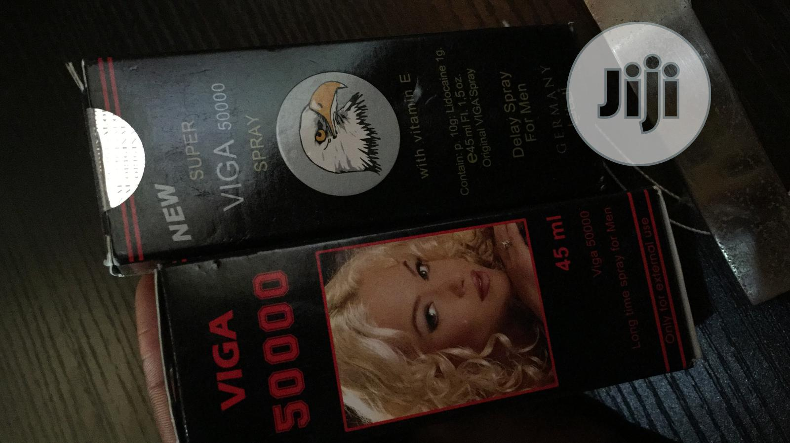 Viga Delay Spray 50000 (Spray For Premature Ejaculation) | Sexual Wellness for sale in Ikeja, Lagos State, Nigeria